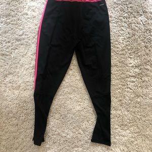 adidas Pants - Adidas pink stripe Track Pants